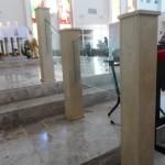 Columnas en Iglesia/Mármol