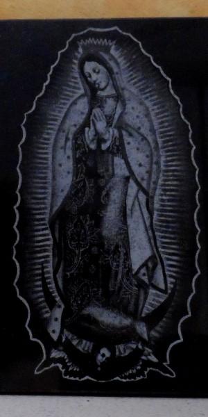 Virgen Guadalupe / Grabado Laser